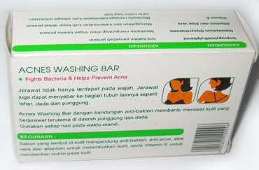 Sabun Acnes Washing Bar
