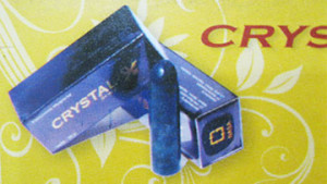 NATURAL CRYSTAL X FOR WOMEN